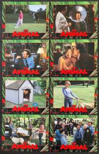The Animal 2001 Rob Schneider Ed Asner 11x14 USA Complete Lobby Card Set