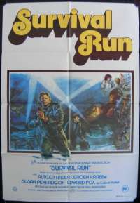 Survival Run One Sheet Australian Movie poster