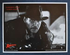 Raiders Of The Lost Ark Poster Reprint Harrison Ford Indiana Jones