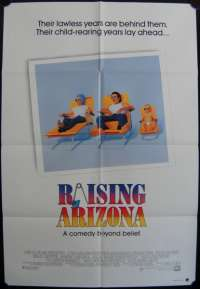 Raising Arizona One Sheet Australian Movie poster