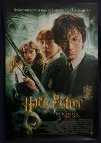 Harry Potter And The Chamber Of Secrets Poster Original USA One Sheet 2002