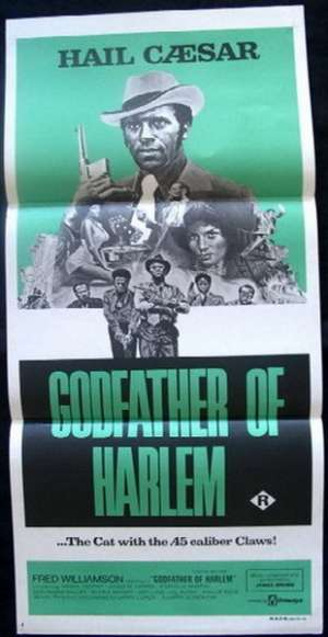 Godfather Of Harlem Poster Original Daybill Fred Williamson
