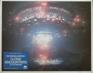 Close Encounters Of The Third Kind Lobby Card 11x14 Richard Dreyfuss