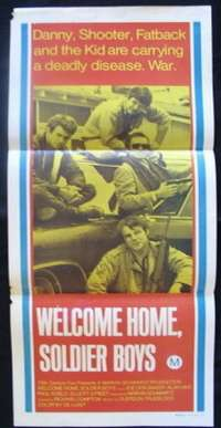 Welcome Home, Soldier Boys Daybill Movie poster