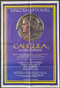 Caligula 1979 One Sheet movie poster erotica Rome Malcolm McDowell