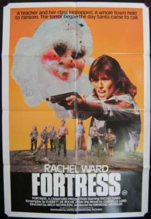 Fortress Movie Poster Rachel Ward Vintage One Sheet
