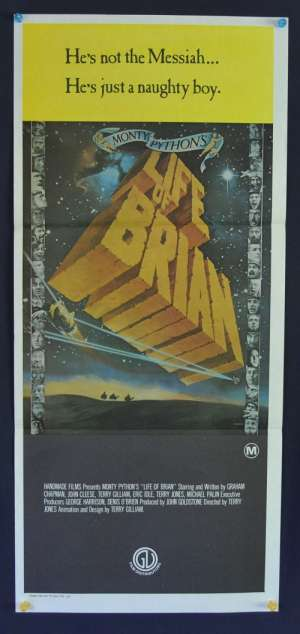 Monty Python's The Life Of Brian 1979 John Cleese Daybill movie poster