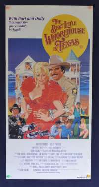 The Best Little Whorehouse In Texas Poster Original Daybill 1982 Burt Reynolds