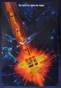 Star Trek VI The Undiscovered Country One Sheet movie poster John Alvin art