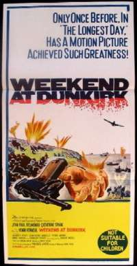 Weekend at Dunkirk Daybill Movie poster