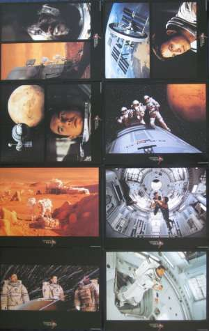 Mission To Mars Lobby Card Set