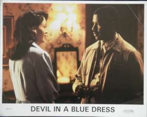 Devil In A Blue Dress Lobby Card