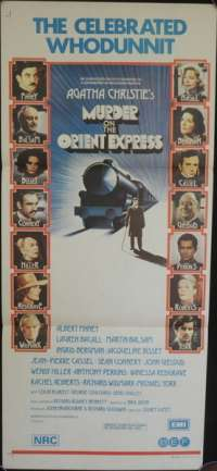Murder On The Orient Express Daybill Movie poster