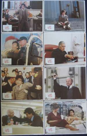 And Justice For All Lobby Card Set 11x14 USA 1979 Al Pacino Norman Jewison