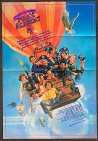 Police Academy 4 1987 One Sheet movie poster Drew Struzan art