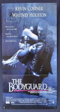 The Bodyguard Movie Poster Original Daybill 1992 Kevin Costner Whitney Houston