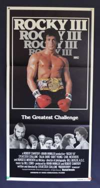 Rocky 3 Daybill Movie Poster