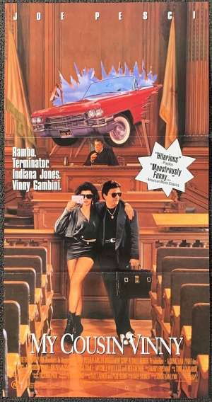 My Cousin Vinny Daybill Movie poster