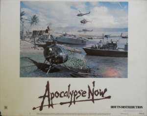 Apocalypse Now Francis Ford Coppola Lobby Card 2