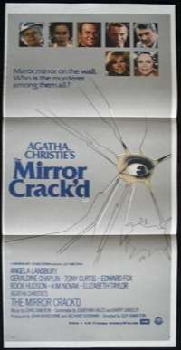 Mirror Crack'd, The Daybill Movie poster