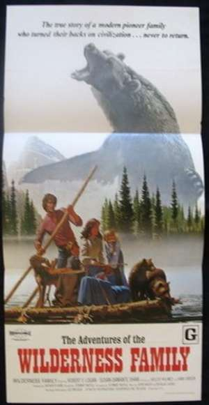 The Adventures Of The Wilderness Family Daybill movie poster