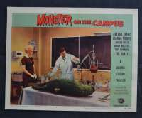 Monster On The Campus Lobby Card 3 1958 Arthur Franz Joanna Moore Sci-Fi Horror