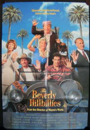 The Beverly Hillbillies Movie Poster Original One Sheet 1993 Dabney Coleman