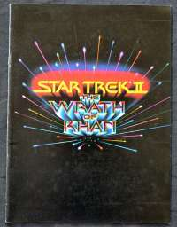 Star Trek II The Wrath Of Khan 1982 Original Press Book 19 pages William Shatner