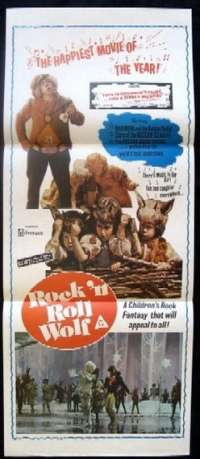 Rock'n Roll Wolf Daybill Movie poster