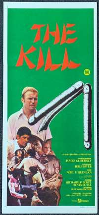 The Kill Daybill movie poster martial arts Karate.