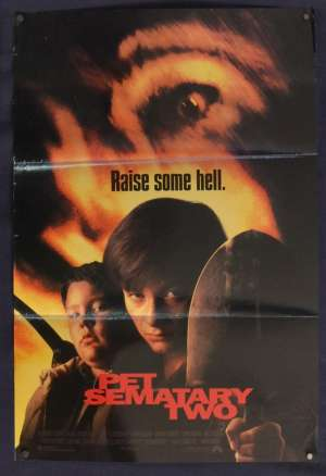 Pet Sematary Two Mini Daybill movie poster Horror Edward Furlong Cancy Brown