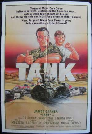 Tank One Sheet movie poster James Garner C.Thomas Howell