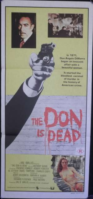 The Don Is Dead Poster Australian Daybill Movie poster