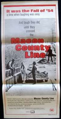 Macon Country Line Daybill Movie poster