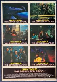 Star Trek 3 The Search For Spock rare Australian Photosheet movie poster