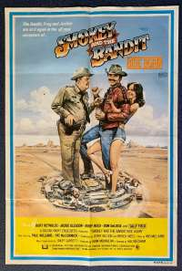 Smokey And The Bandit Ride Again Poster Original One Sheet 1980 Burt Reynolds