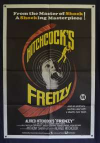 Frenzy Poster Original One Sheet 1972 Jon Finch Alec McCowen Alfred Hitchcock