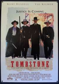 Tombstone Poster Original One Sheet ROLLED 1993 Kurt Russell Val Kilmer