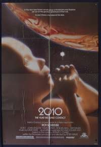 2010 The Year We Make Contact 1984 One Sheet USA movie poster Roy Scheider