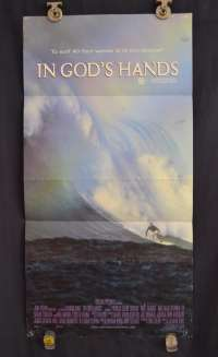 In God's Hands Poster Original Daybill 1998 Surfing