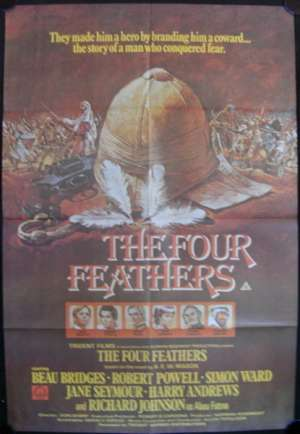 Four Feathers, The One Sheet Australian Movie poster