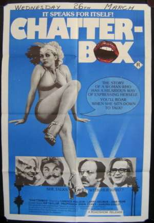 Chatterbox One Sheet Australian Movie poster