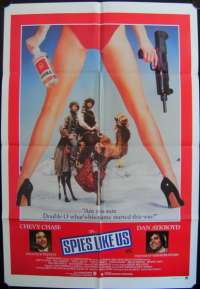 Spies Like Us One Sheet Australian Movie poster