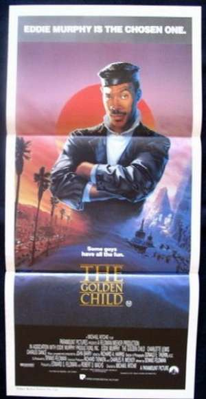 The Golden Child Daybill Movie poster Eddie Murphy