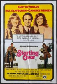 Starting Over One Sheet Australian Movie poster