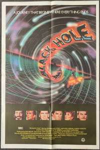 The Black Hole Movie Poster Original One Sheet Maximilian Schell