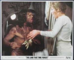The Land That Time Forgot Lobby Card No 8 Original 1975 Doug McClure