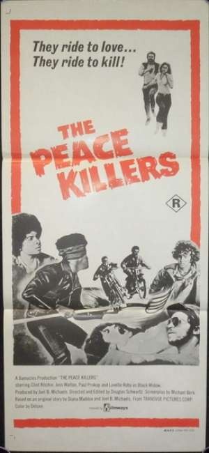 Peace Killers, The Daybill Movie poster