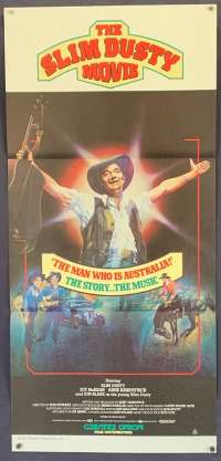 The Slim Dusty Movie 1984 Daybill movie poster Slim Dusty country music