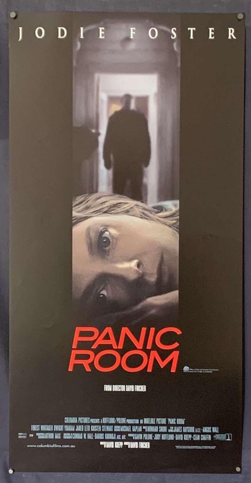 All About Movies Panic Room 2002 Daybill Movie Poster Rare Jodie Foster Kristen Stewart